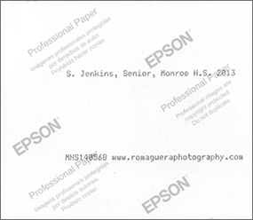 Epson Back Print